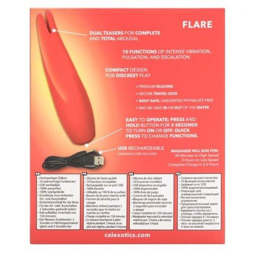 CalExotics Flare by Red Hot  - Handheld Rabbit