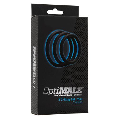 OptiMALE OptiMALE C-ring set of 3 - Thin