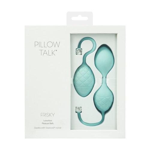Pillow Talk Frisky Pleasure Balls - set van 2