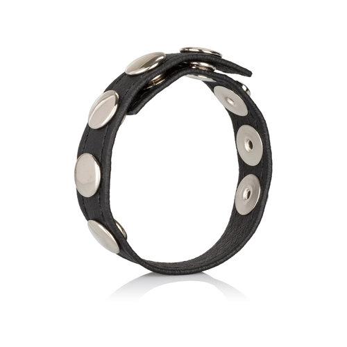 CalExotics Leather Multi-Snap Ring