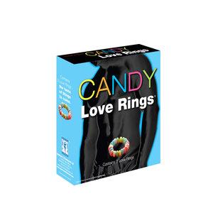 Spencer & Fleetwood Candy Love Rings - 3 stuks
