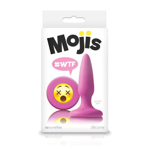 NS Novelties Mojis #WTF Mini - Emoji Buttplug