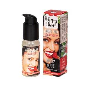 Happy Diva Taste Me Body Lube Aardbei - 50 ml