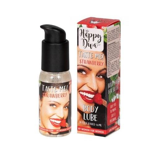 Happy Diva Taste Me Body Lube Strawberry - 50 ml