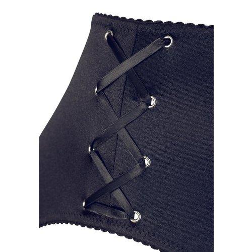 Cottelli Collection 3-piece Suspender Set - Cottelli Curves
