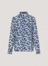 Milly shirt Daisy Blue Samsoe Samsoe