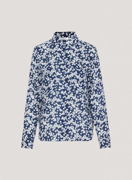 SAMSOE&SAMSOE Milly shirt Daisy Blue Samsoe Samsoe