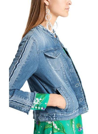 Marccain jeansvest marccain LC3105D05