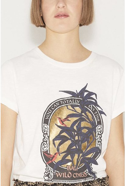 Aqua t-shirt Münthe