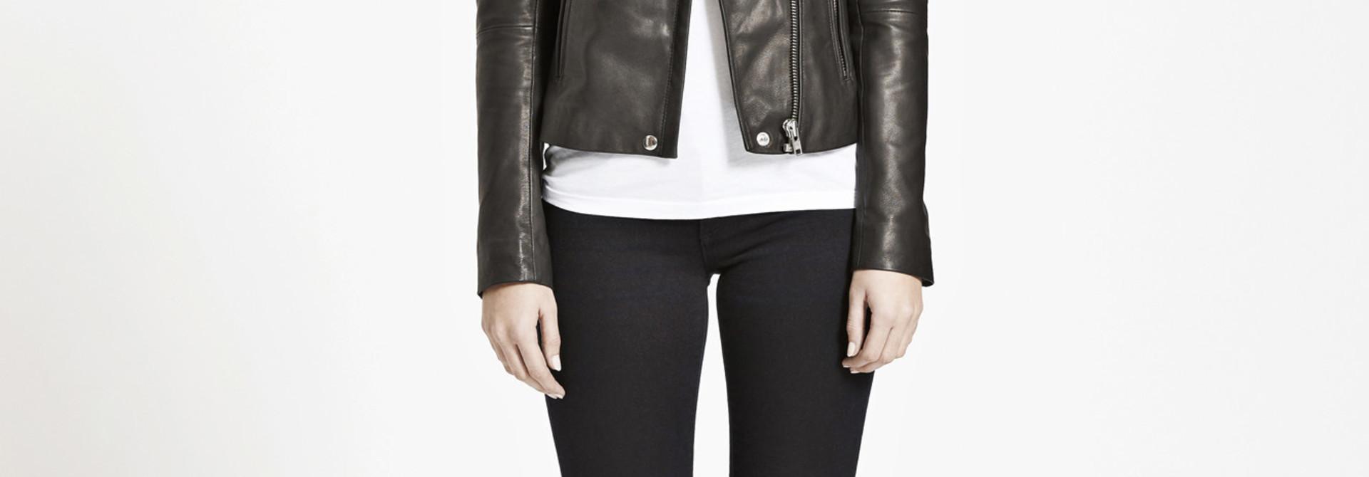 duris leather jacket Samsoe Samsoe