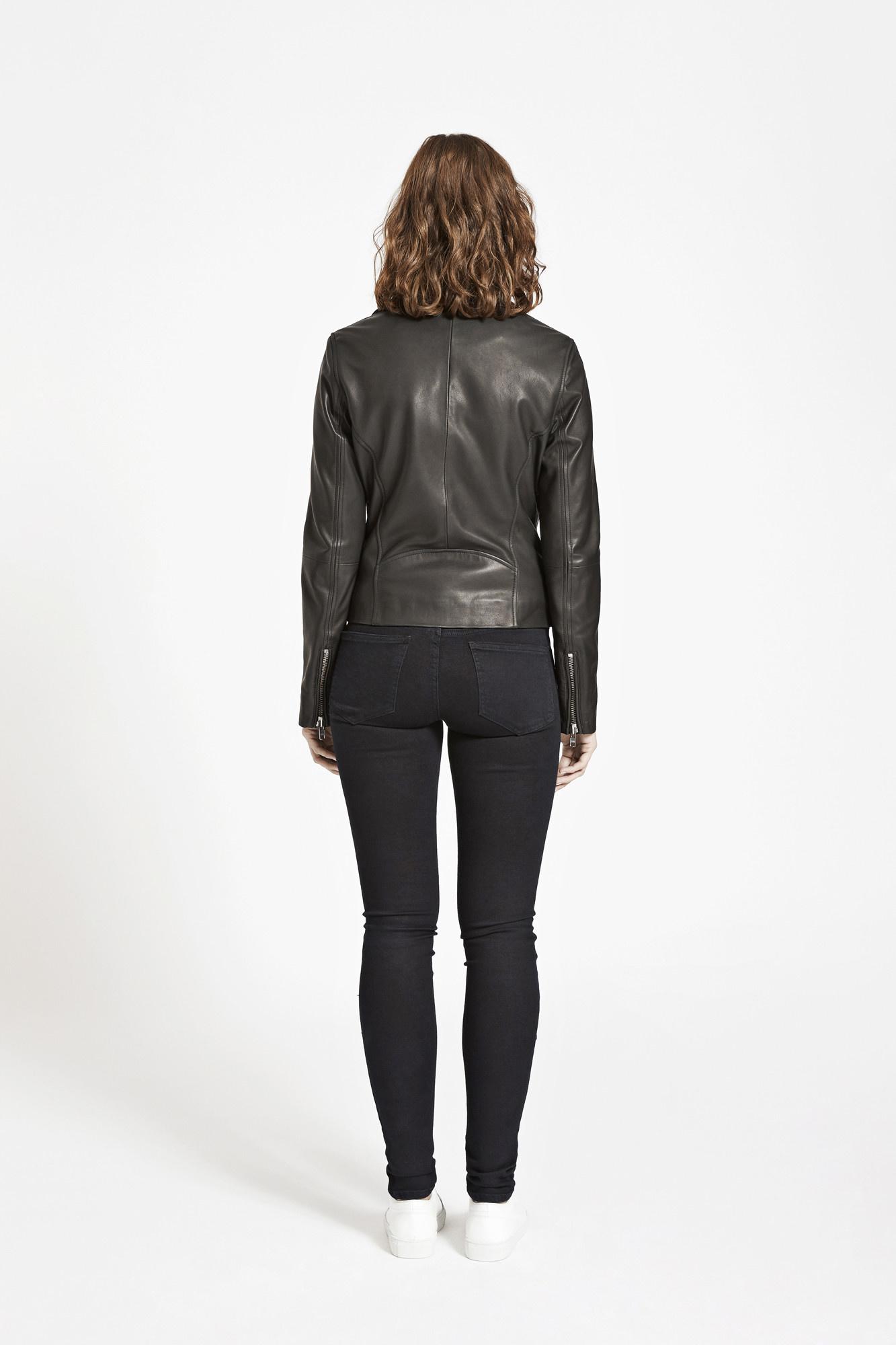 duris leather jacket Samsoe Samsoe-2
