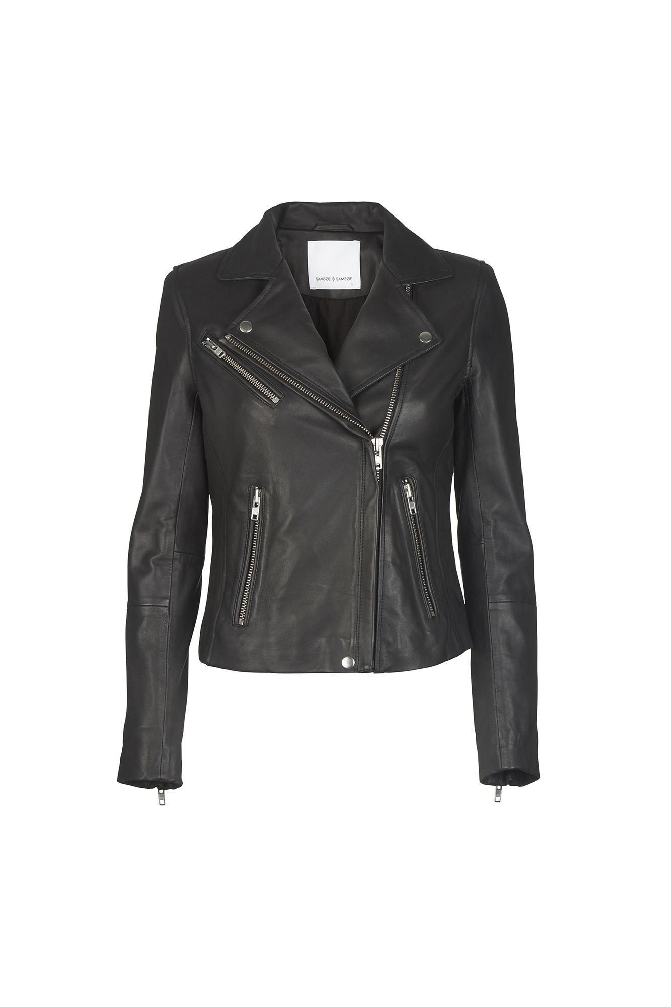 duris leather jacket Samsoe Samsoe-3