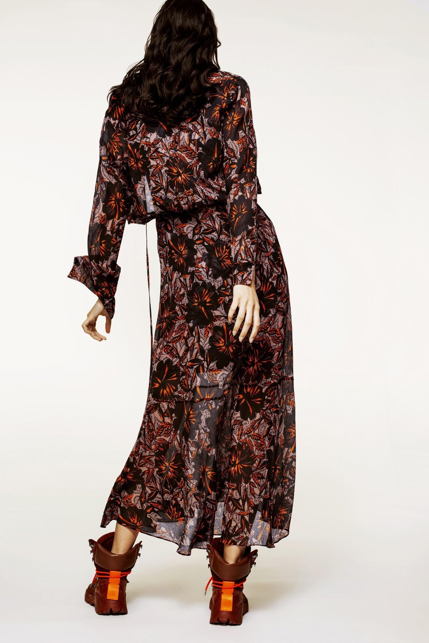 Exotic flowering dress-3
