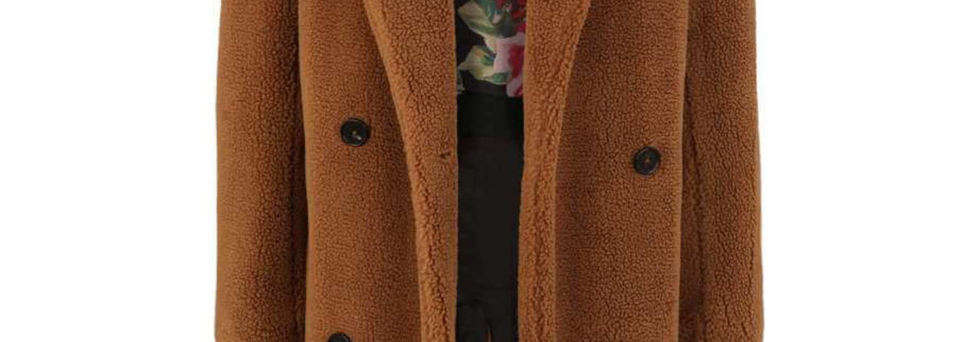 Roxana fake fur teddy Blond Nr. 8