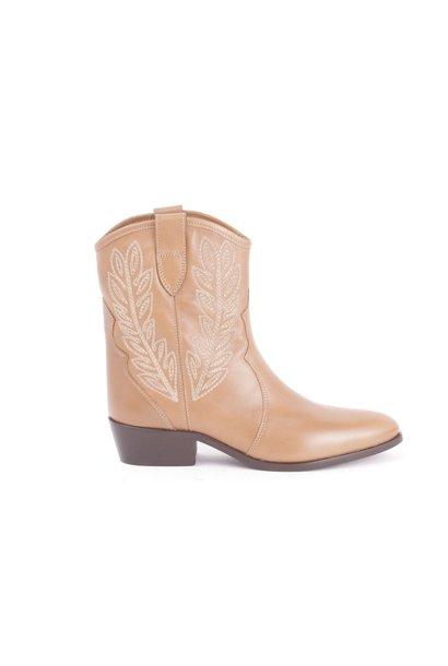 Camel cowboy boot Twin-Set