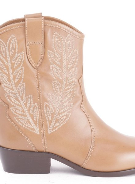 Twin-Set Camel cowboy boot Twin-Set