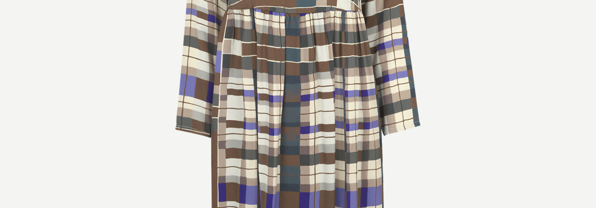 Rama dress Patchwork check Samsoe Samsoe