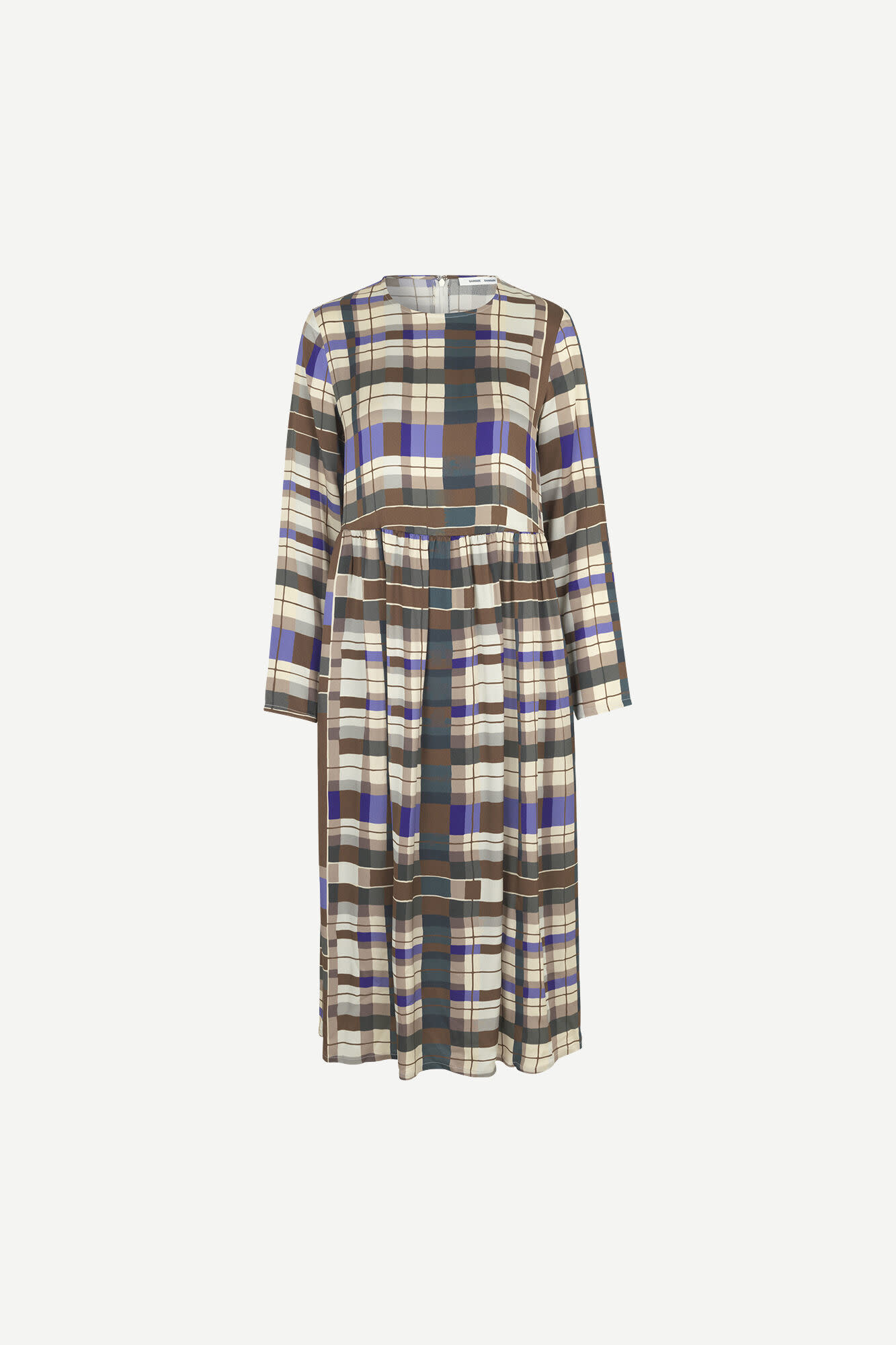 Rama dress Patchwork check Samsoe Samsoe-1
