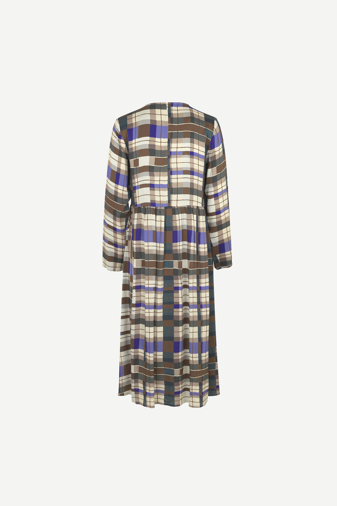 Rama dress Patchwork check Samsoe Samsoe-2