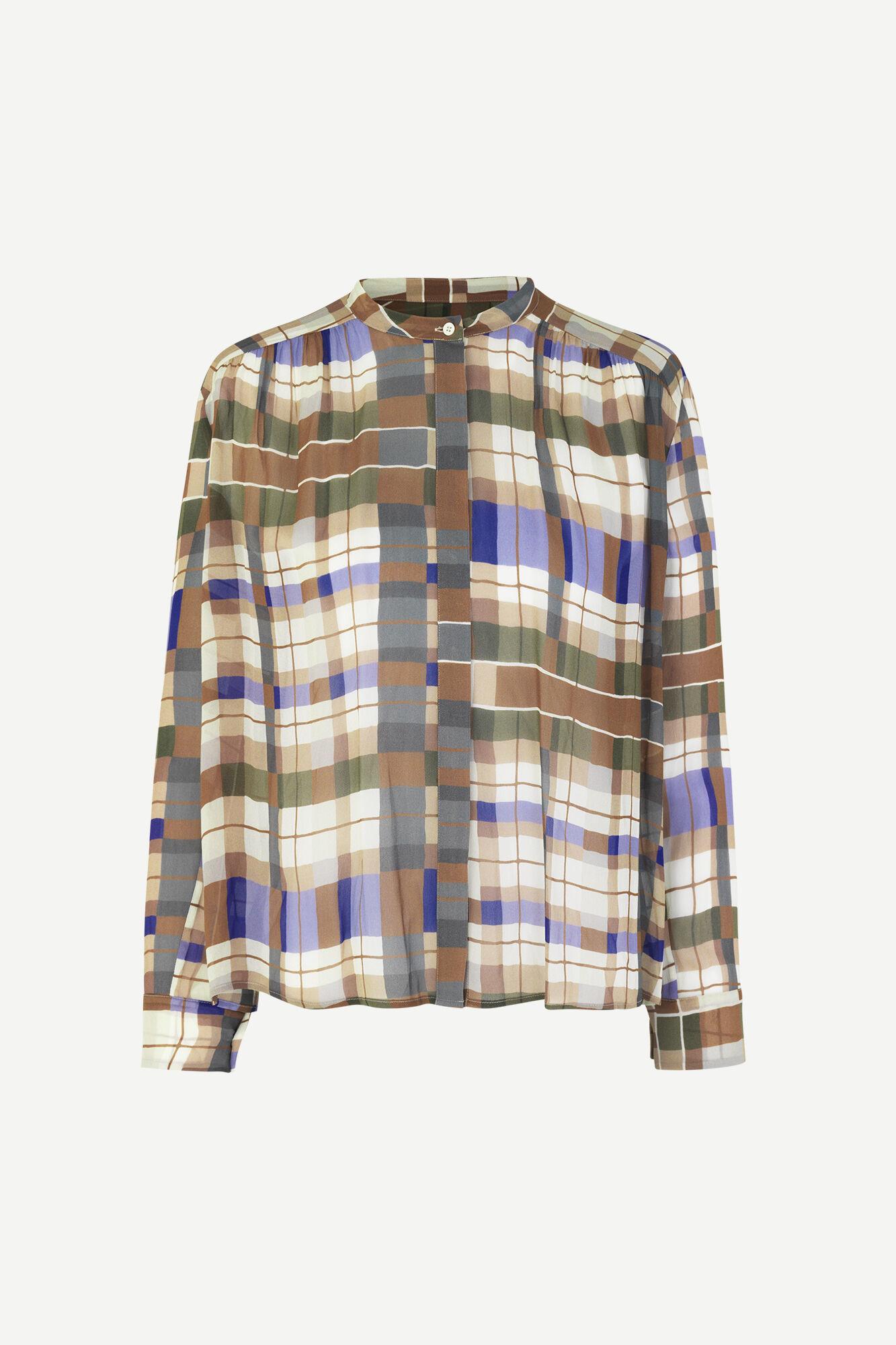 Elmy shirt dress Samsoe Samsoe-3