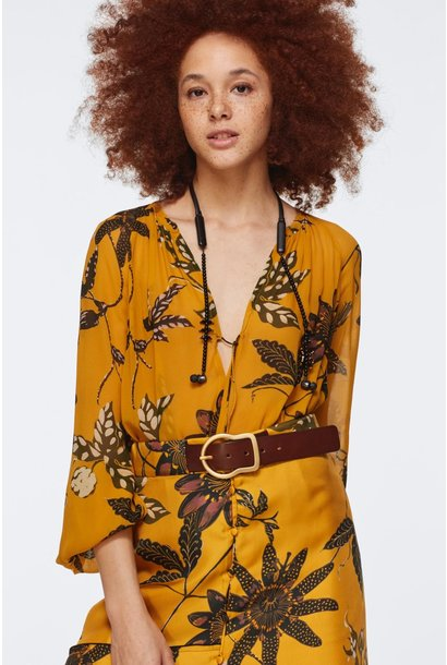 Floral transparancy blouse dorothee schumacher