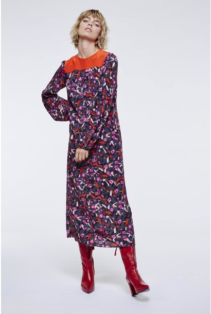 Abstract flowering dress dorothee schumacher