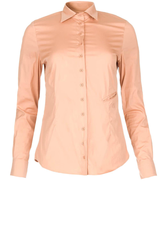 nina basic denim shirt-5