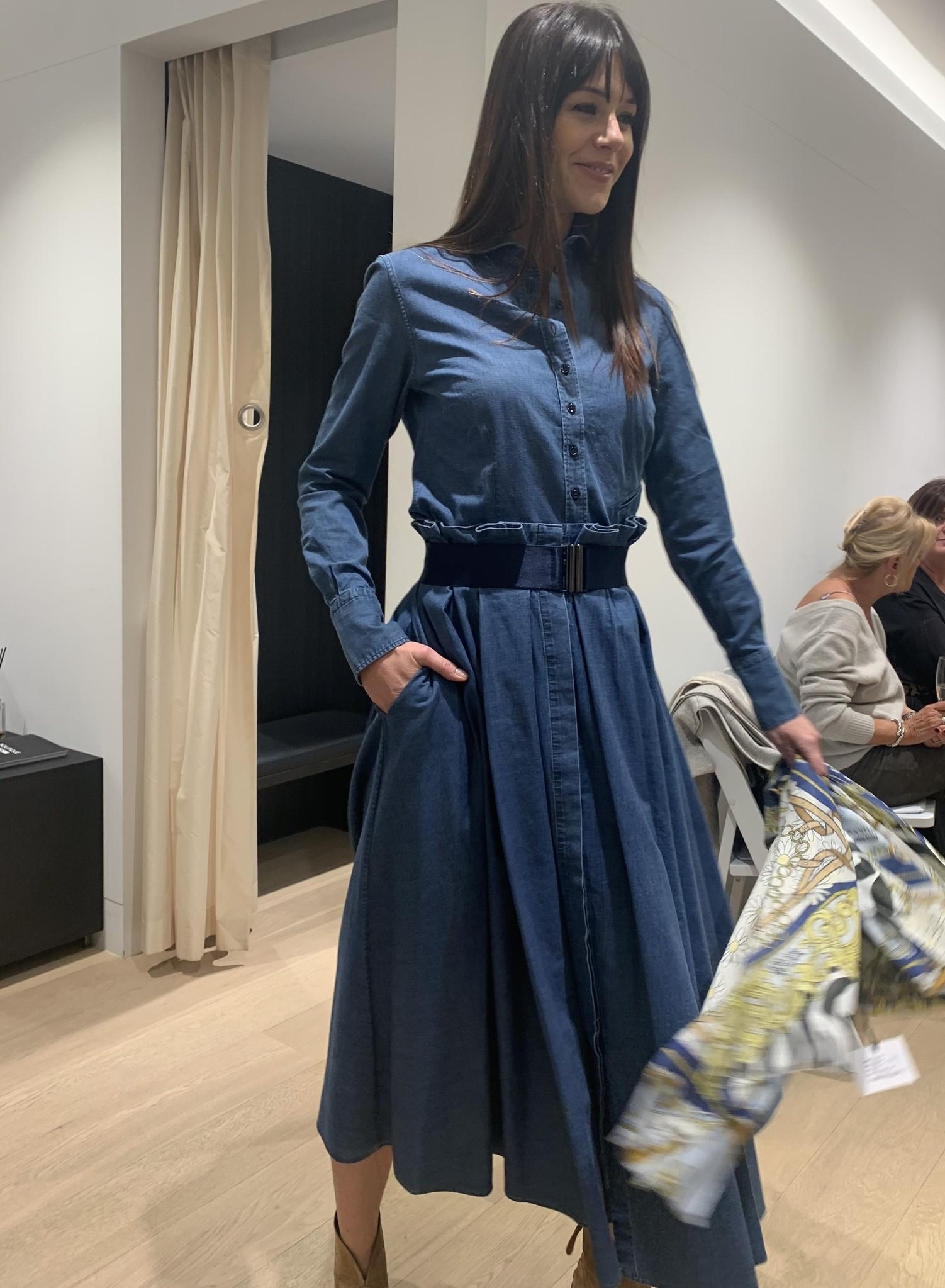 Audrey coton skirt Souäd Feriani-4