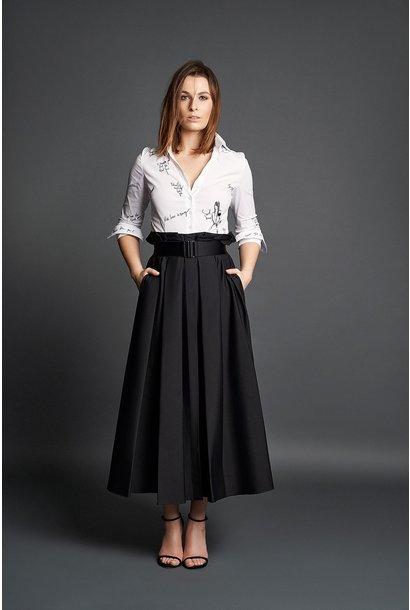 Audrey coton skirt Souâd Feriani