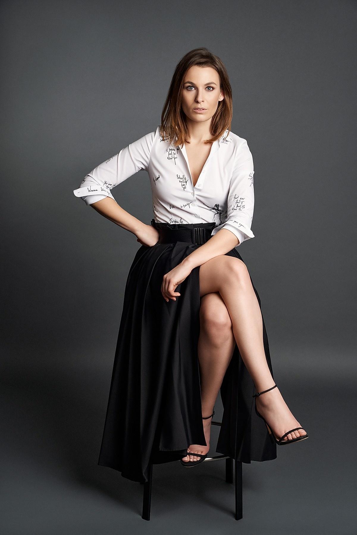 Audrey coton skirt Souäd Feriani-2