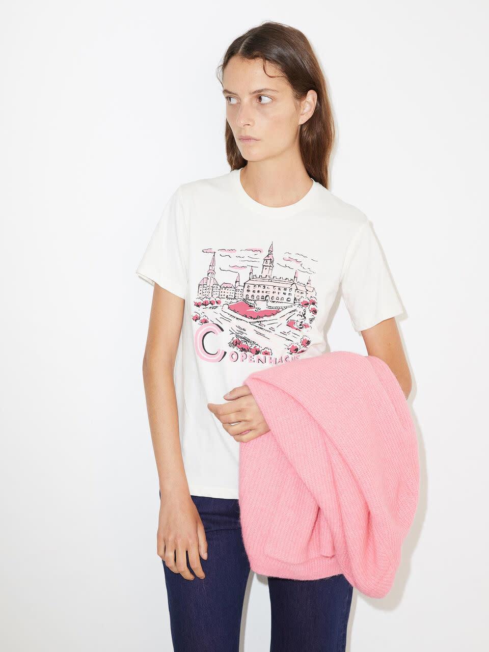 Suddia T-Shirt By Malene Birger-1