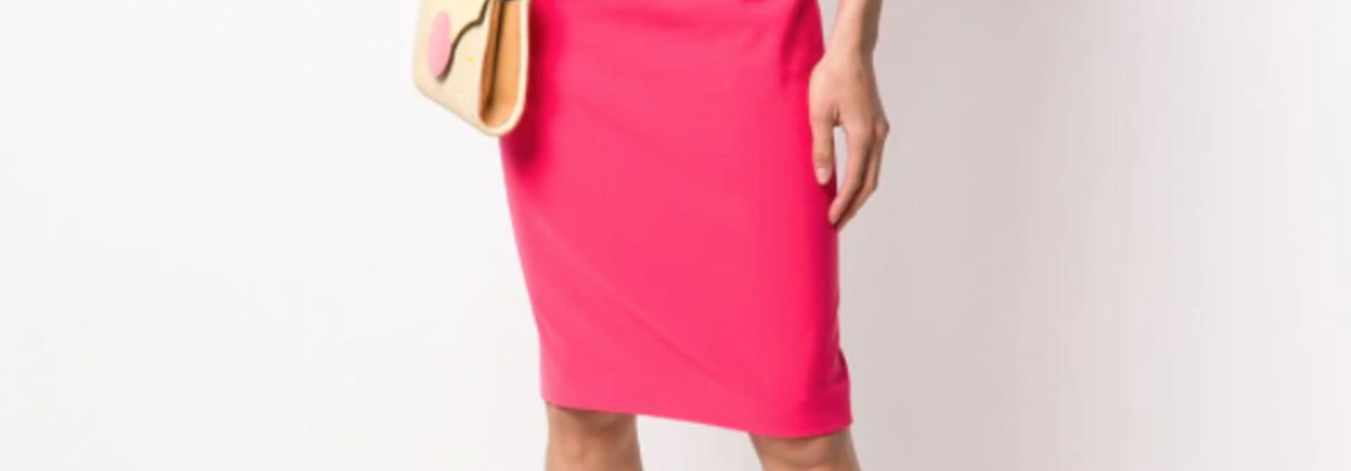 jurk moschino A0438 824