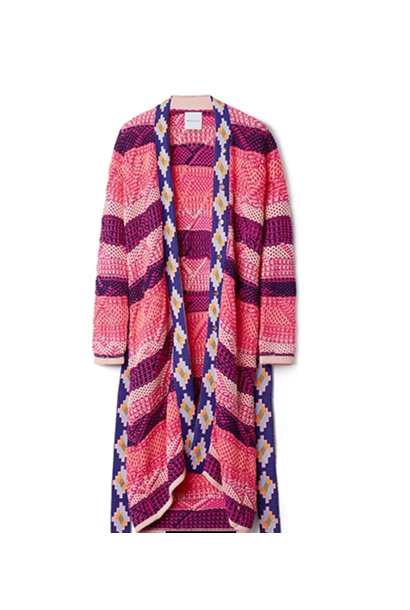 Hailey Rainbow cardigan