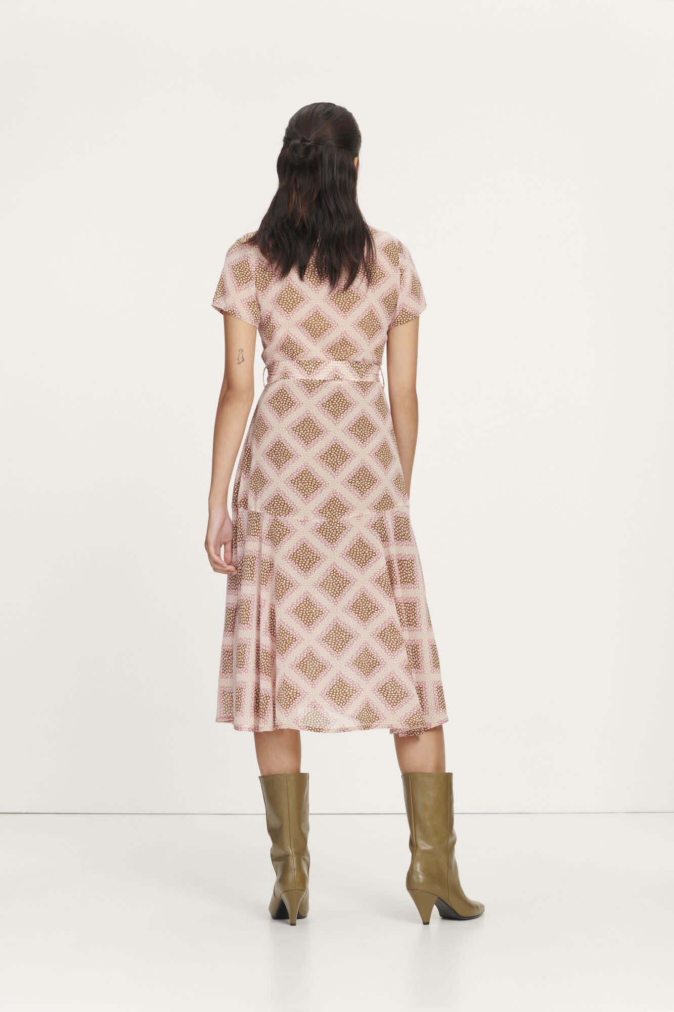 Klea long dress samsoe-3