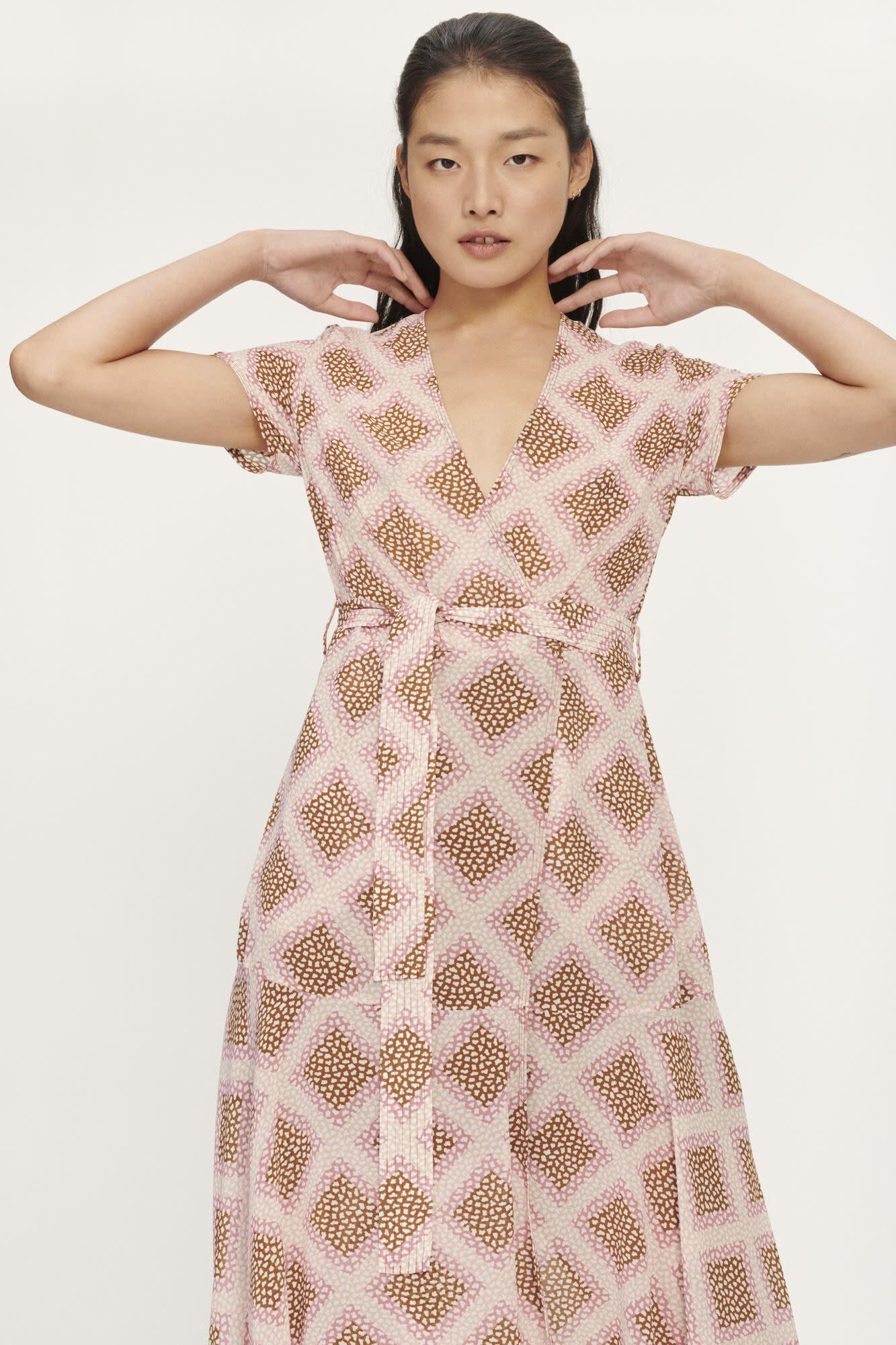 Klea long dress samsoe-4