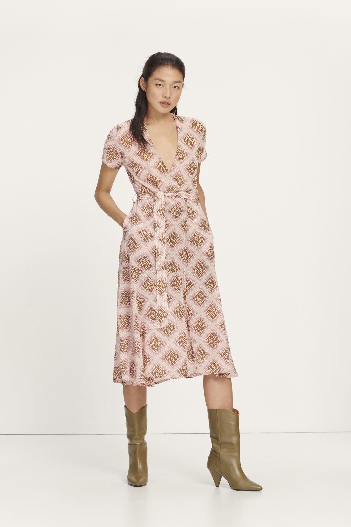 Klea long dress samsoe-5