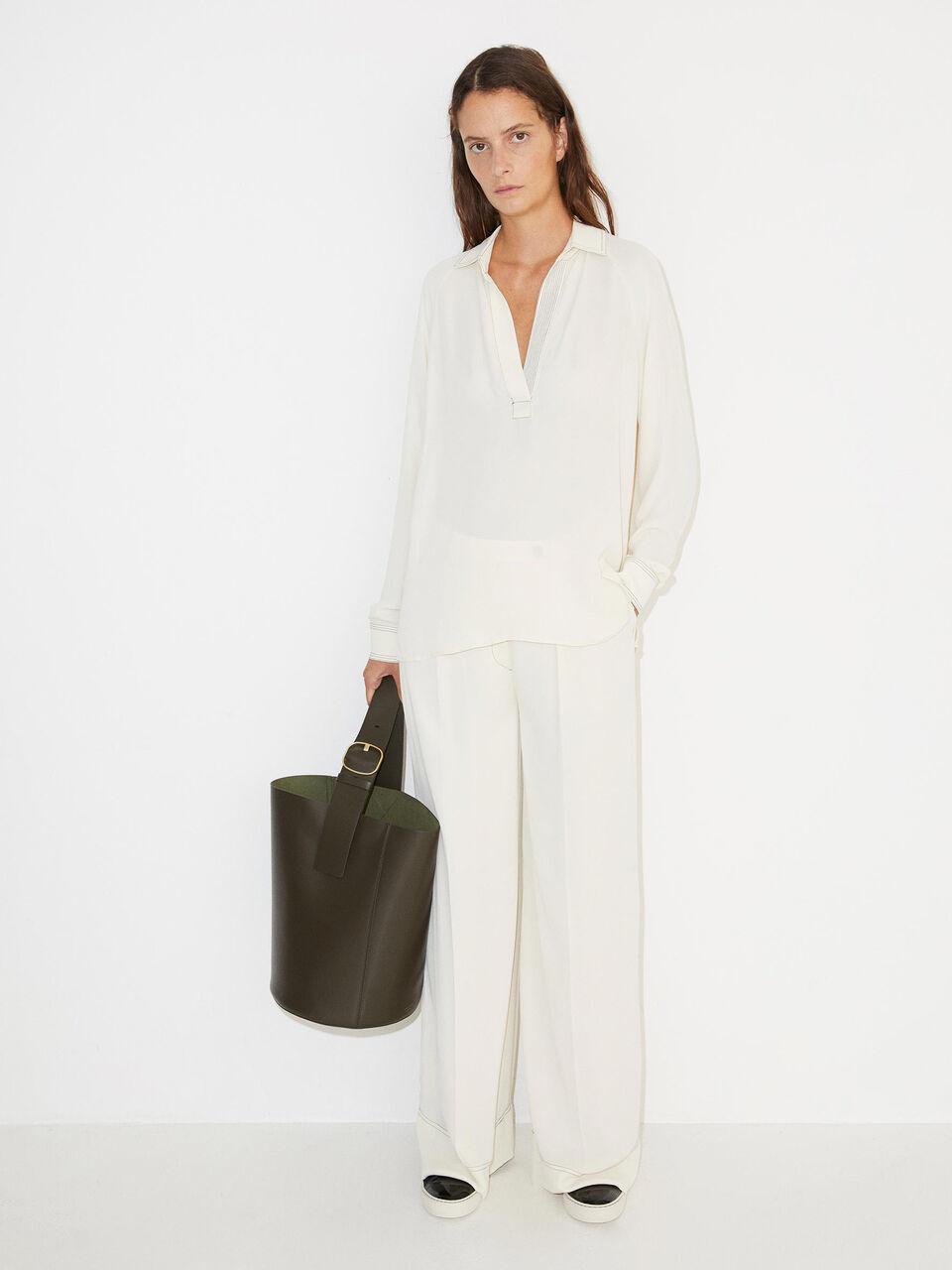 Oliviaa blouse By Malene birger-1