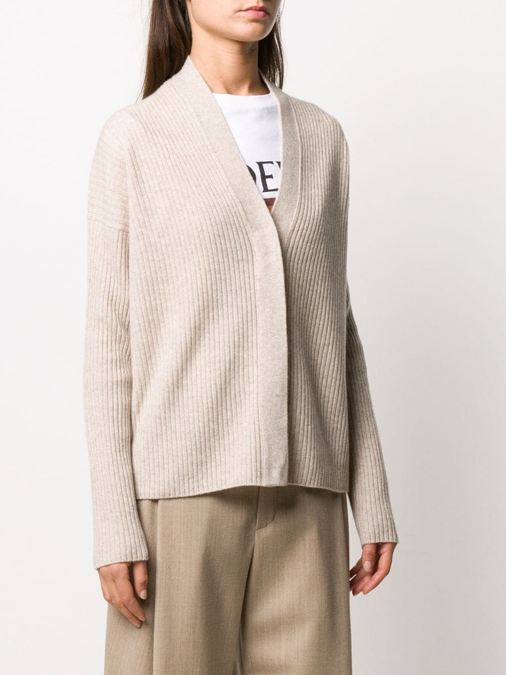 Ribbed cardigan Vince-3