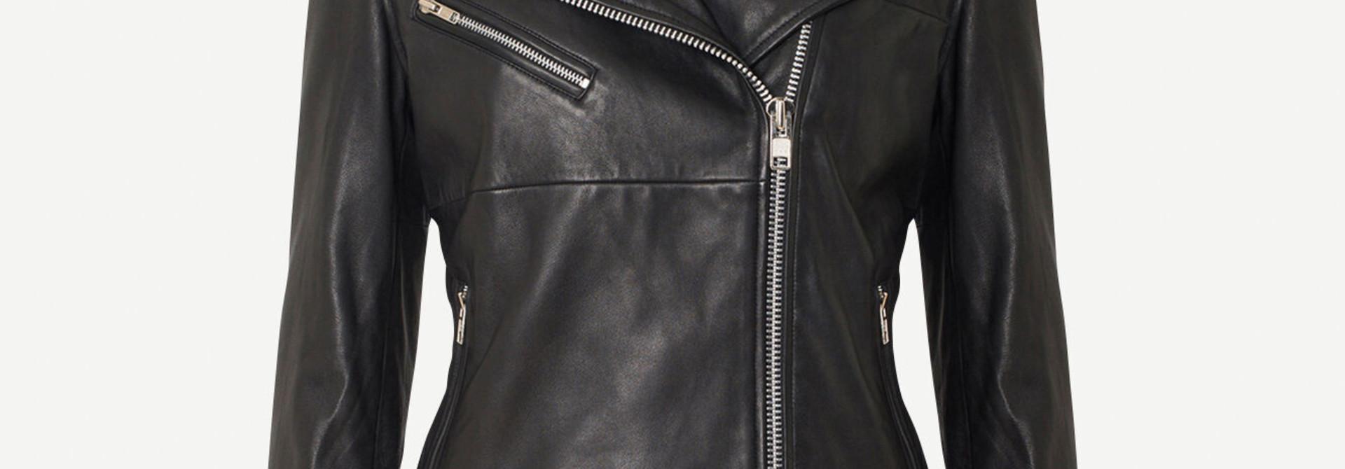 tautou leather jacket samsoe samsoe