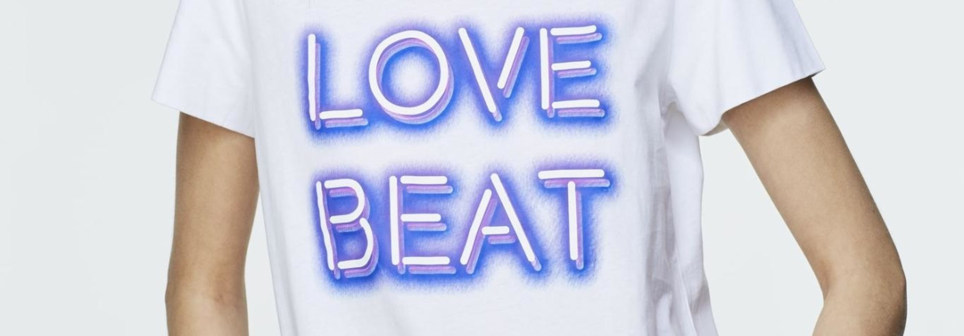 Neon love beat shirt dorothee schumacher