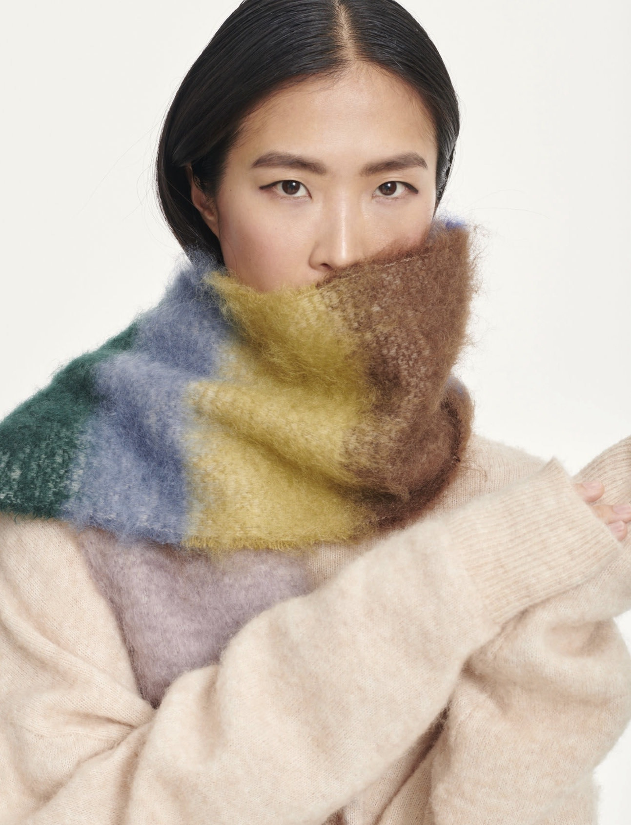 Adula scarf Samsoe samsoe-3