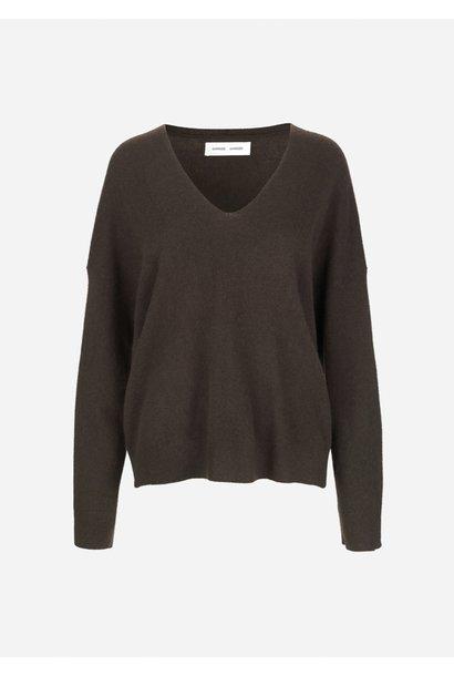 Nola v-neck sweater samsoe samsoe