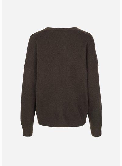 SAMSOE&SAMSOE Nola v-neck sweater samsoe samsoe
