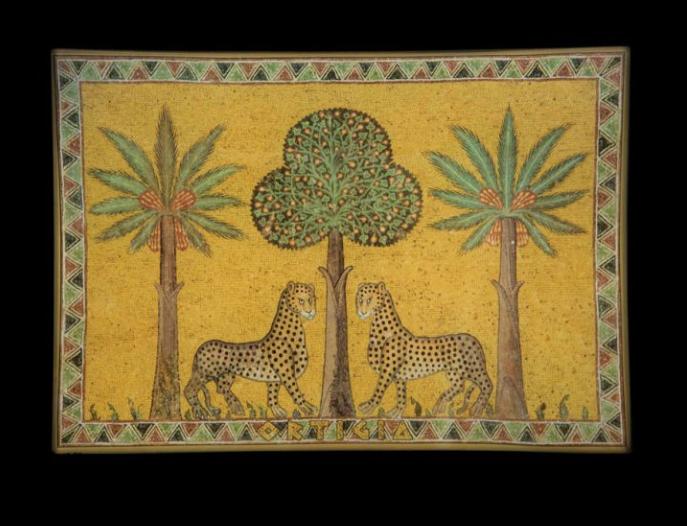Ortigia Sicilia Piatto di vetro Zagara 23,5 x 16 cm-1