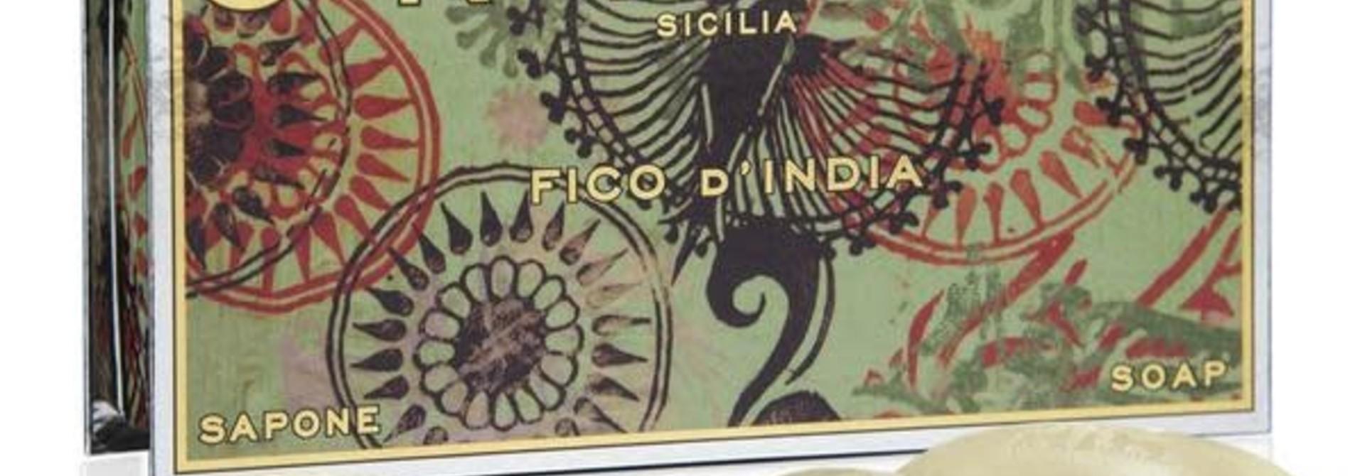 Ortigia Sicilia gift set soap Fico d'India 4x40gr.