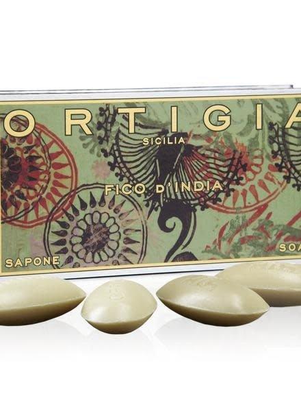 Ortigia Sicilia Ortigia Sicilia gift set soap Fico d'India 4x40gr.