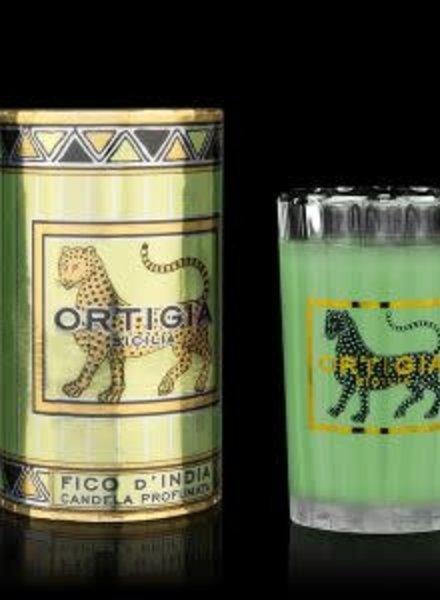 Ortigia Sicilia Ortigia Sicilia round candle fico d'india