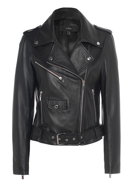 Kylie leather jacket arma