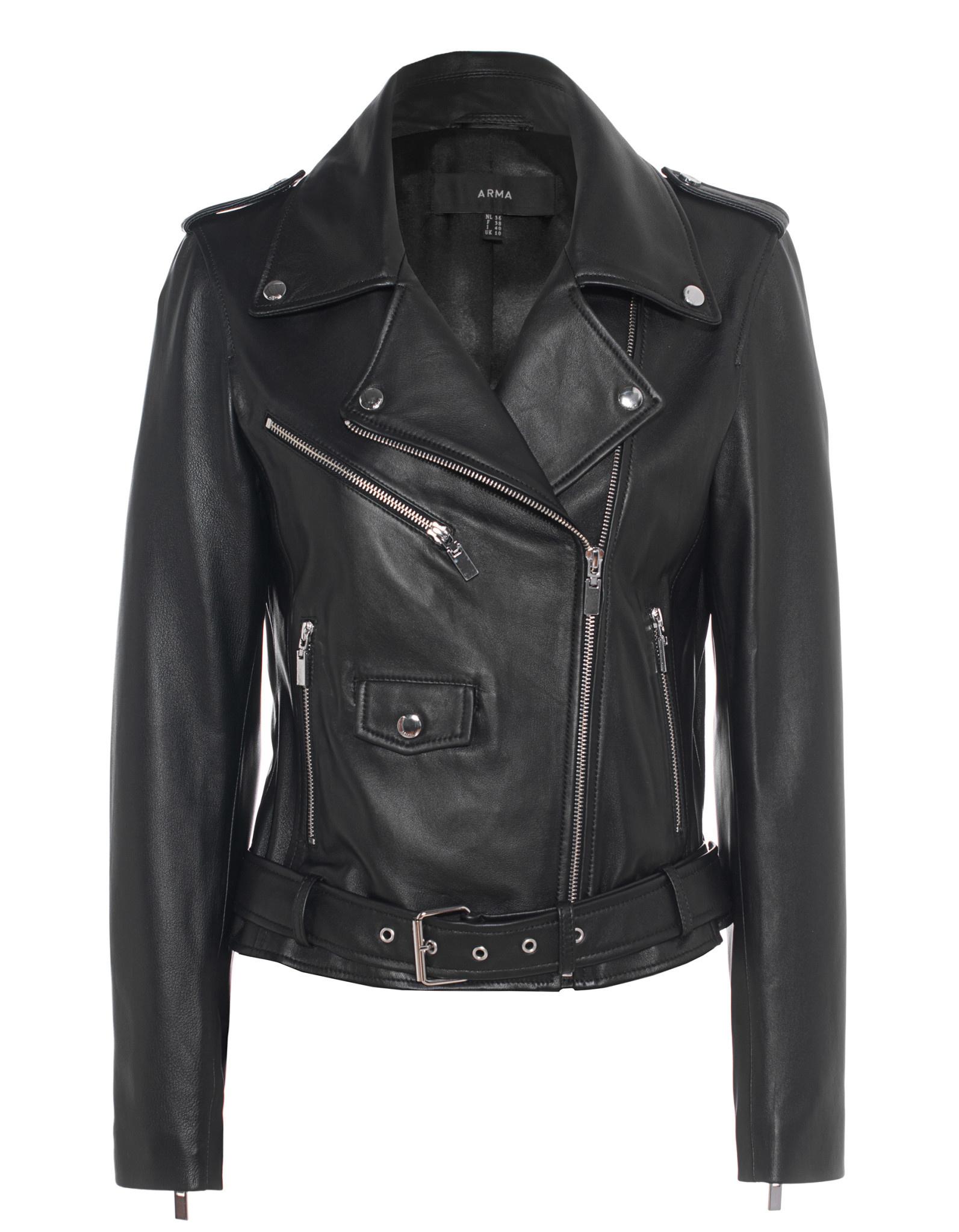 Kylie leather jacket arma-1