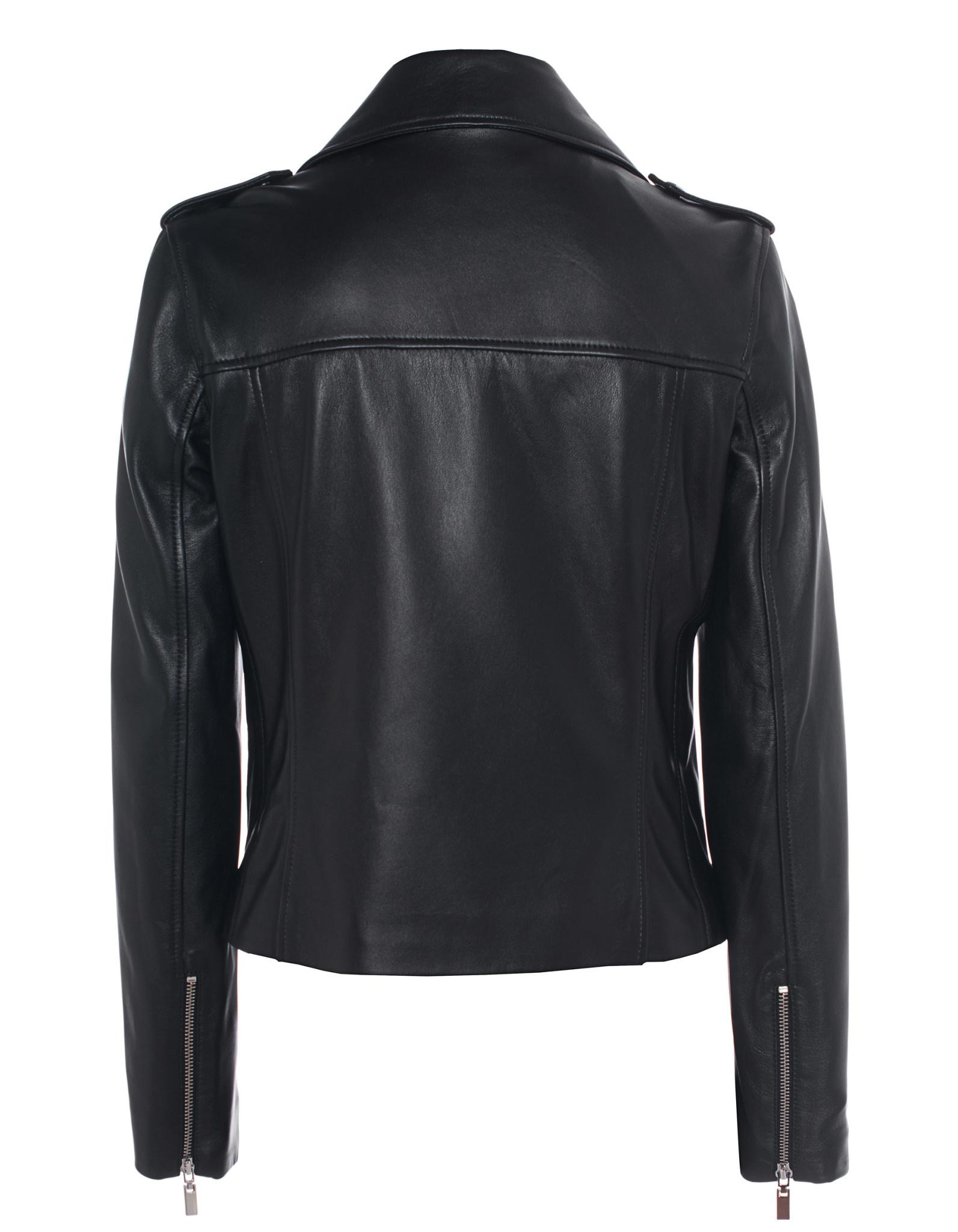 Kylie leather jacket arma-2